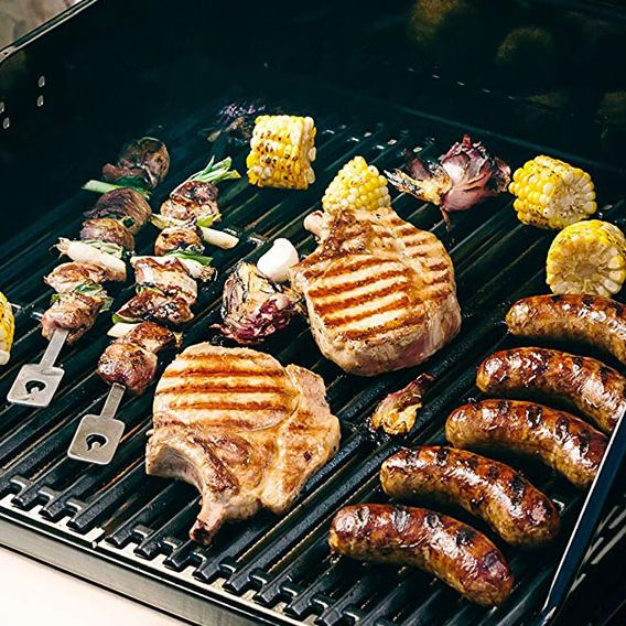 Should we grill food on gas stove?