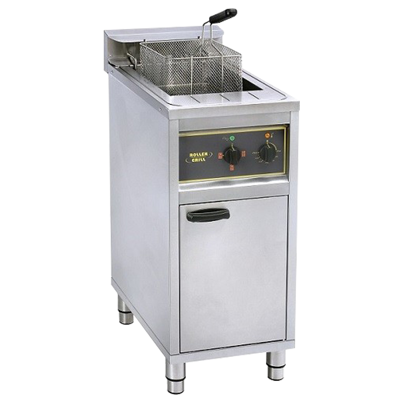 Roller Grill RFE 16 C Single Fryer On Cabinet 16L